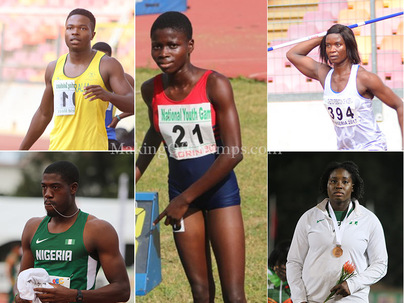 Top 20 Nigerian Athletes in 2018 Part 2 (15 – 11) | MAKING OF CHAMPIONS
