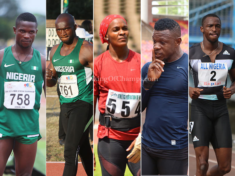 Top 20 Nigerian Athletes in 2018 Part 1 (20 - 16) | MAKING OF CHAMPIONS