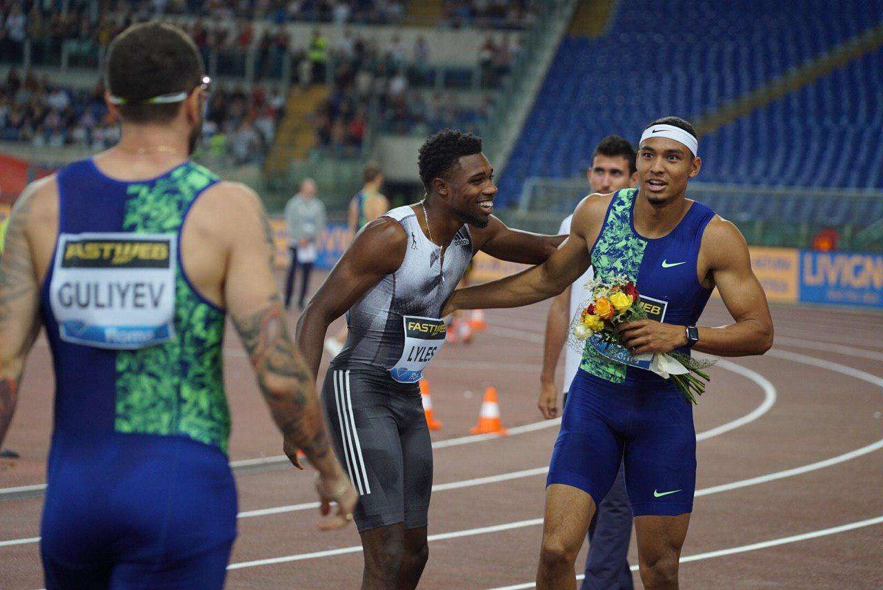 Norman & Mihambo cause upsets to win the men's 200m ...