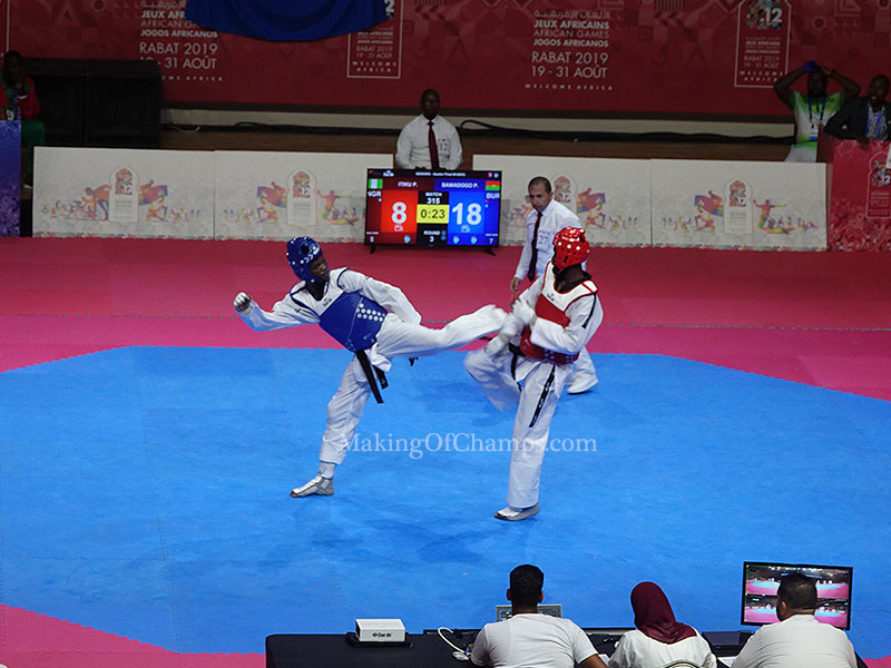 Taekwondo wins 3 medals for Nigeria on Day 6 of 2019 African