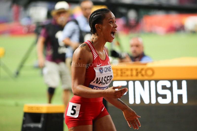 Report: womens 400m - IAAF World Athletics Championships