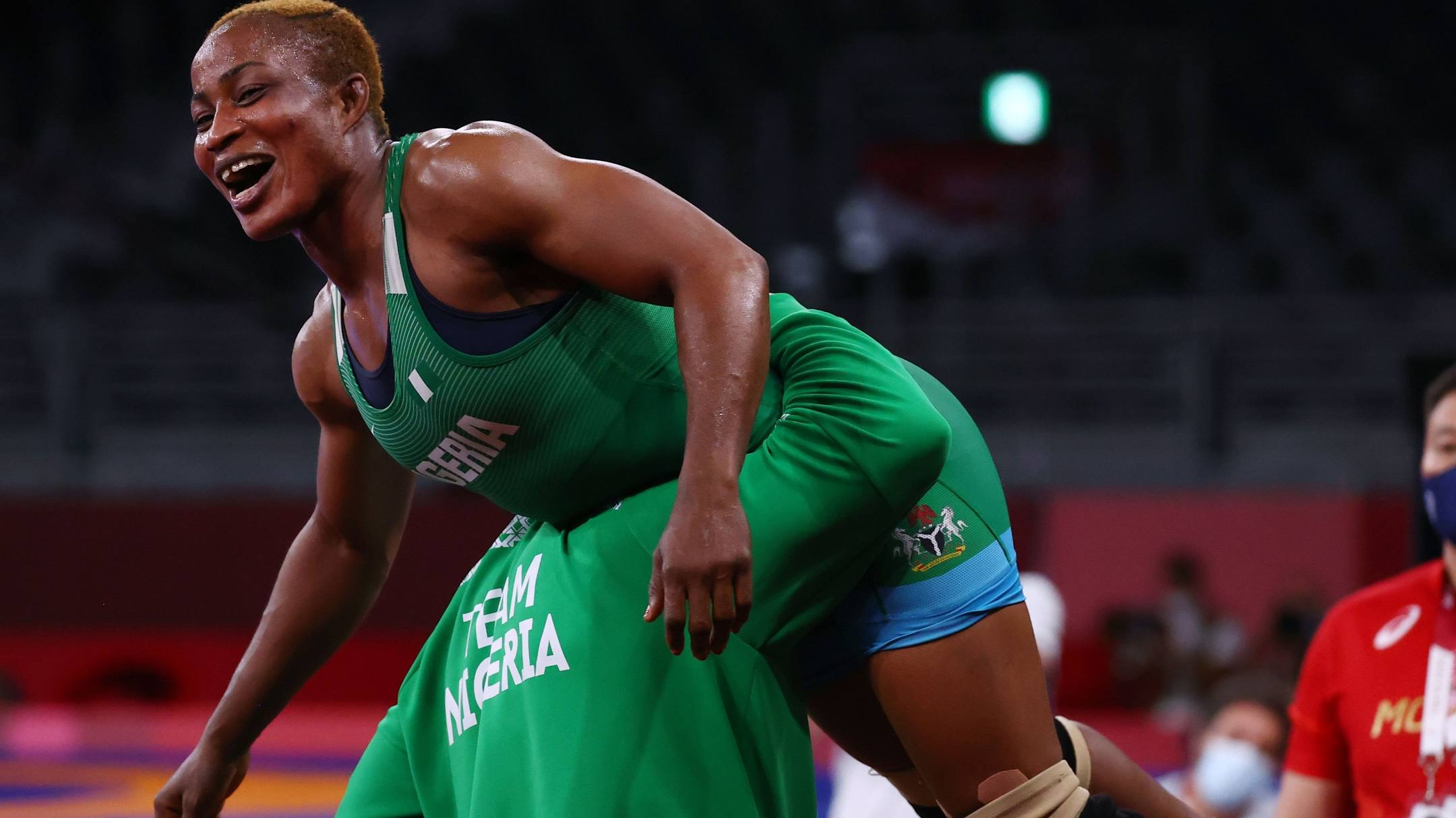 Blessing Oborududu wins Nigeria's 1st Ever Wrestling Olympic medal in  Tokyo!! | MAKING OF CHAMPIONS